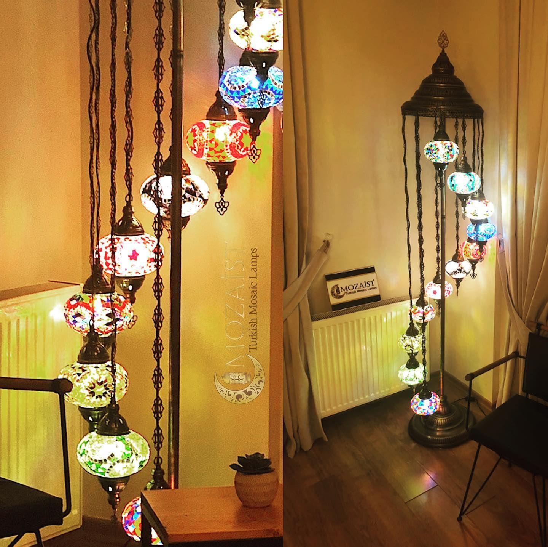 #floorlamp #turkishlamp #mosaiclamp #standinglamp #cornerlamp #meditation #yoga #homedecor #decoration #california #usa #madeinturkey #mozaist