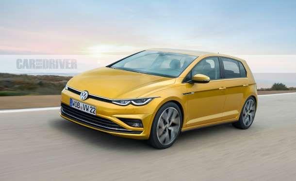 2021 Volkswagen Golf The Future Is Here New Model Car Volkswagen Golf Volkswagen
