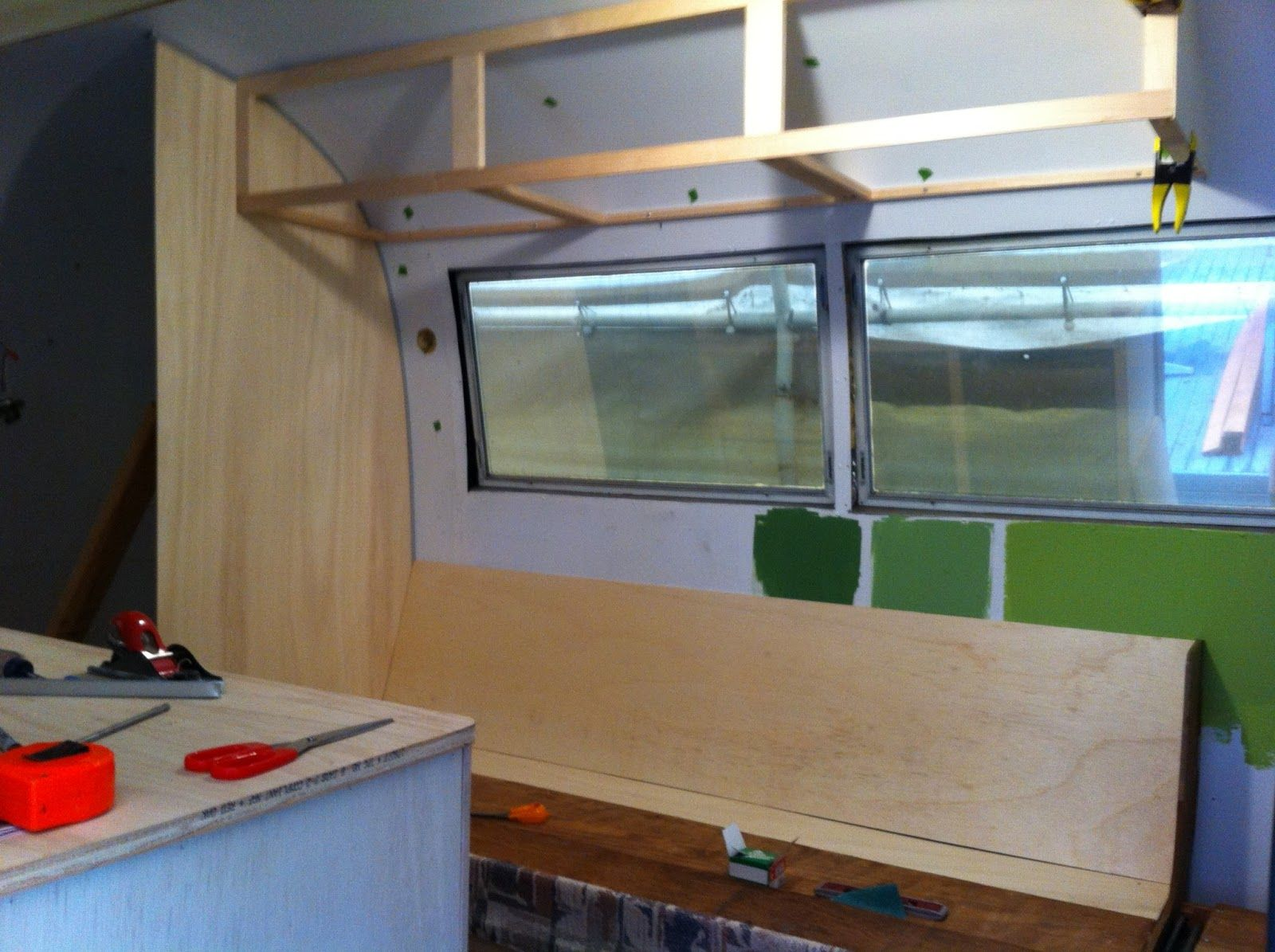 Image result for overhead cabinet airstream | Argosy build