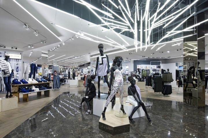 84d53813203fc ... the womens department. River Island Flagship Store by Dalziel and Pow