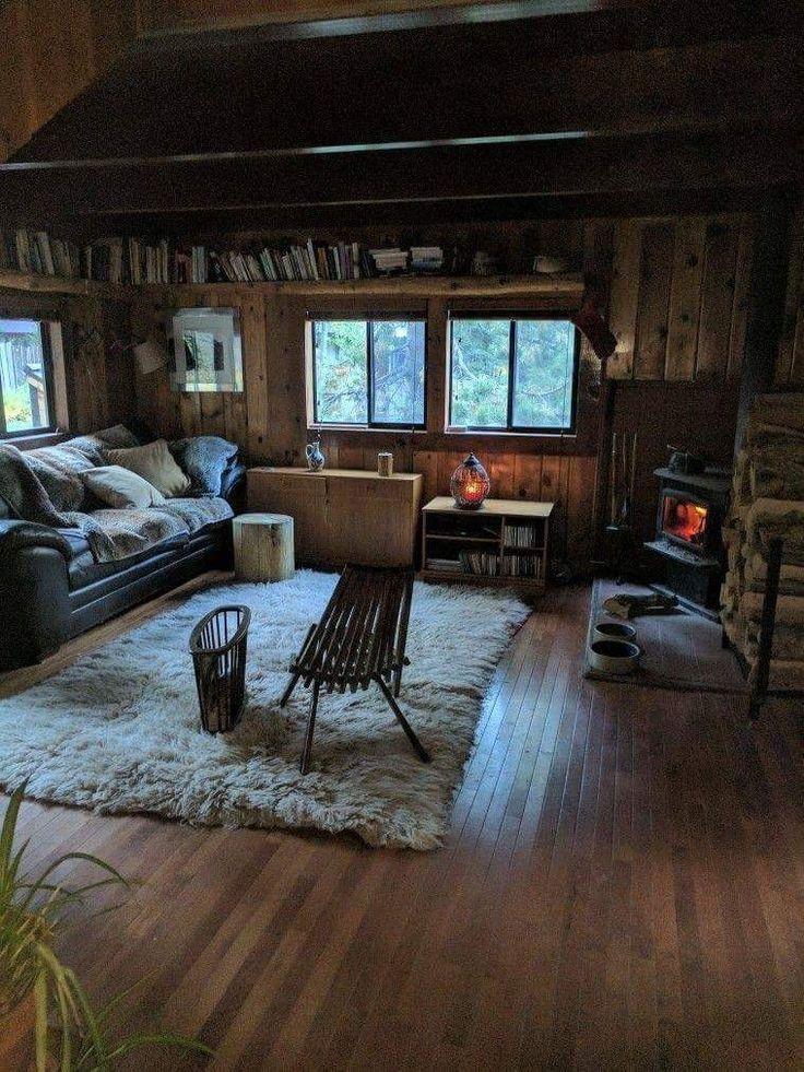 #cabin #casanafloresta #interior #cabininthewoods … – #cabin
