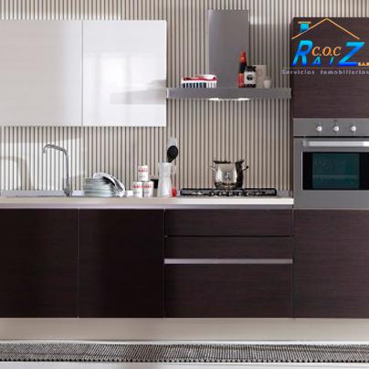 COCHogar Si tu #cocina es #pequeña, puedes pintarla de #color café o ...