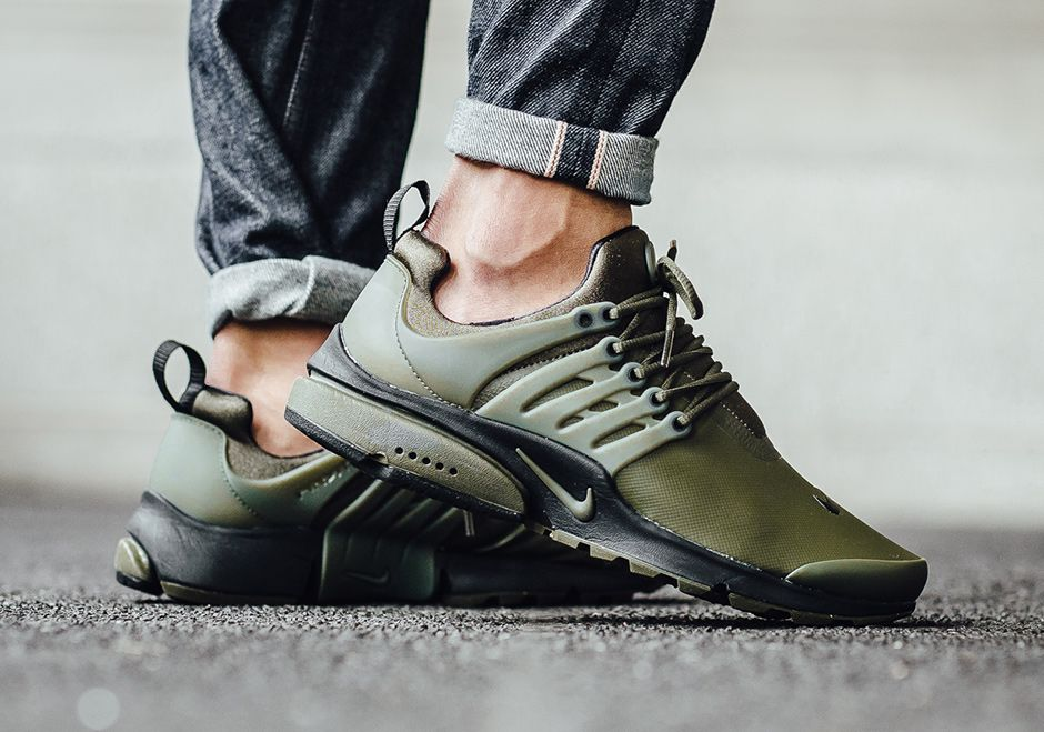 buy popular 86390 b4f77 On-Feet Images Of The Nike Air Presto Low Utility Olive