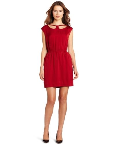 BCBGeneration Women's Collar Cutout Dress, Red, Medium BCBGeneration,http://www.amazon.com/dp/B008KYNQUE/ref=cm_sw_r_pi_dp_eUb6qb0PN97ECT7Q