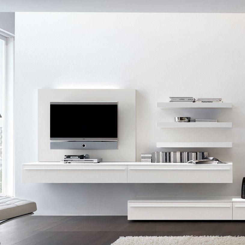 Wall Mount Tv Unit Study Joinery Wohnzimmerwand Wohnzimmer Wohnen