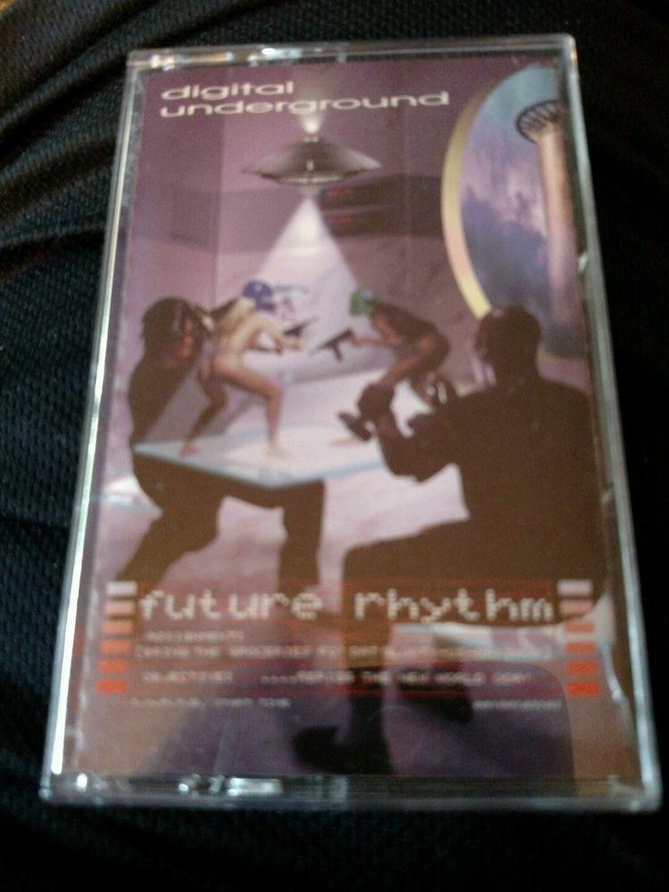 DIGITAL UNDERGROUND FUTURE RHYTHM HIP-HOP/RAP CASSETTE 1996 OOP RADIKAL RECORDS #GangstaHardcore