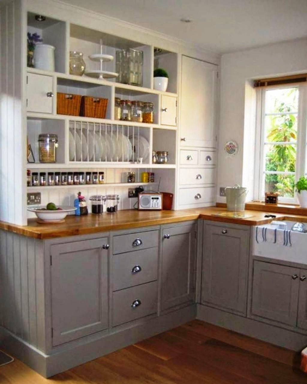 Kitchen organization for tight spaces ideas for home - Doors for tight spaces ...