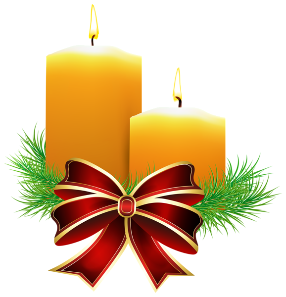 christmas candles transparent png clip art image. Black Bedroom Furniture Sets. Home Design Ideas