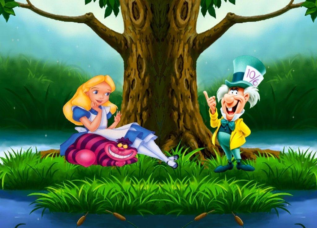 Finding Nemo D Animasi Hd Wallpaper: Alice In Wonderland Cartoon 1951