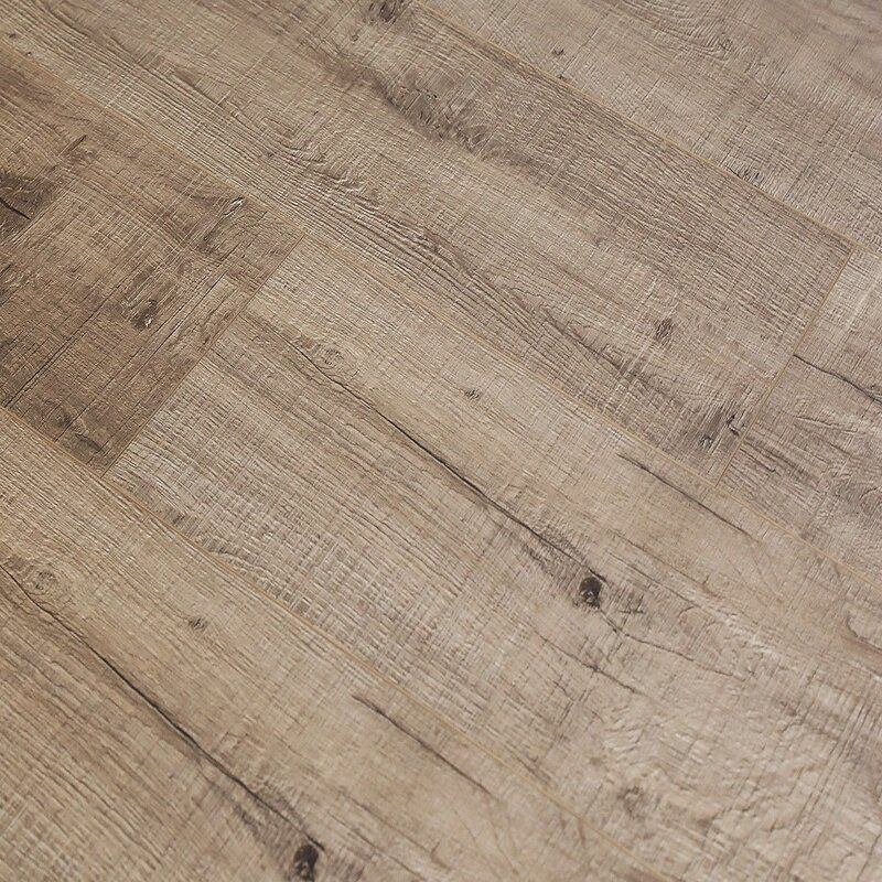 "Pearl Leather 8"" x 49"" x 12mm Laminate Flooring in 2020"