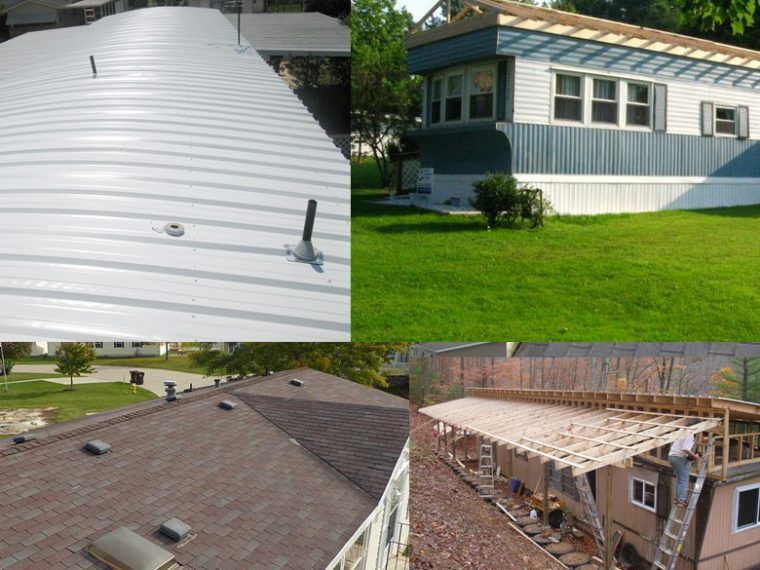 Mobile Home Roof Repair Options Mobile home roof, Mobile