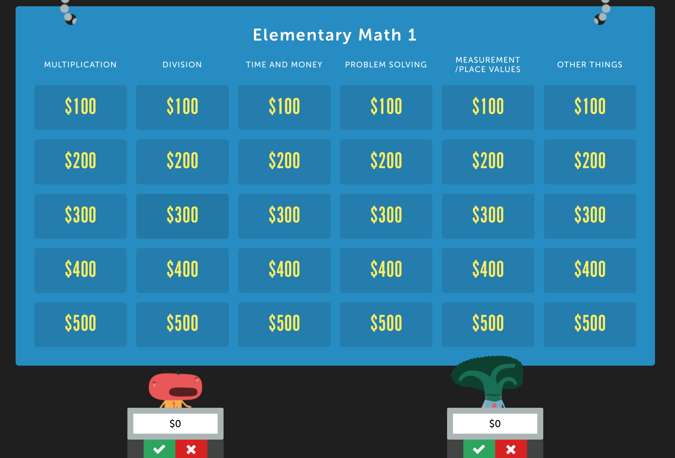 Pin by Factile on Jeopardy Games   Review games, Games