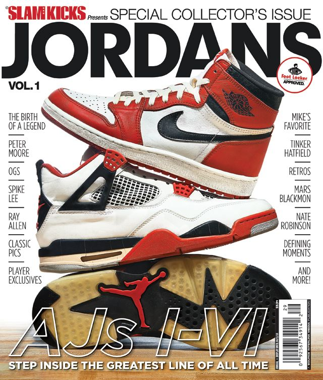 """The Kicks portion of the SLAM magazine sphere is focusing on the Air Jordan  series with a """"special collector's issue"""" at the moment."""