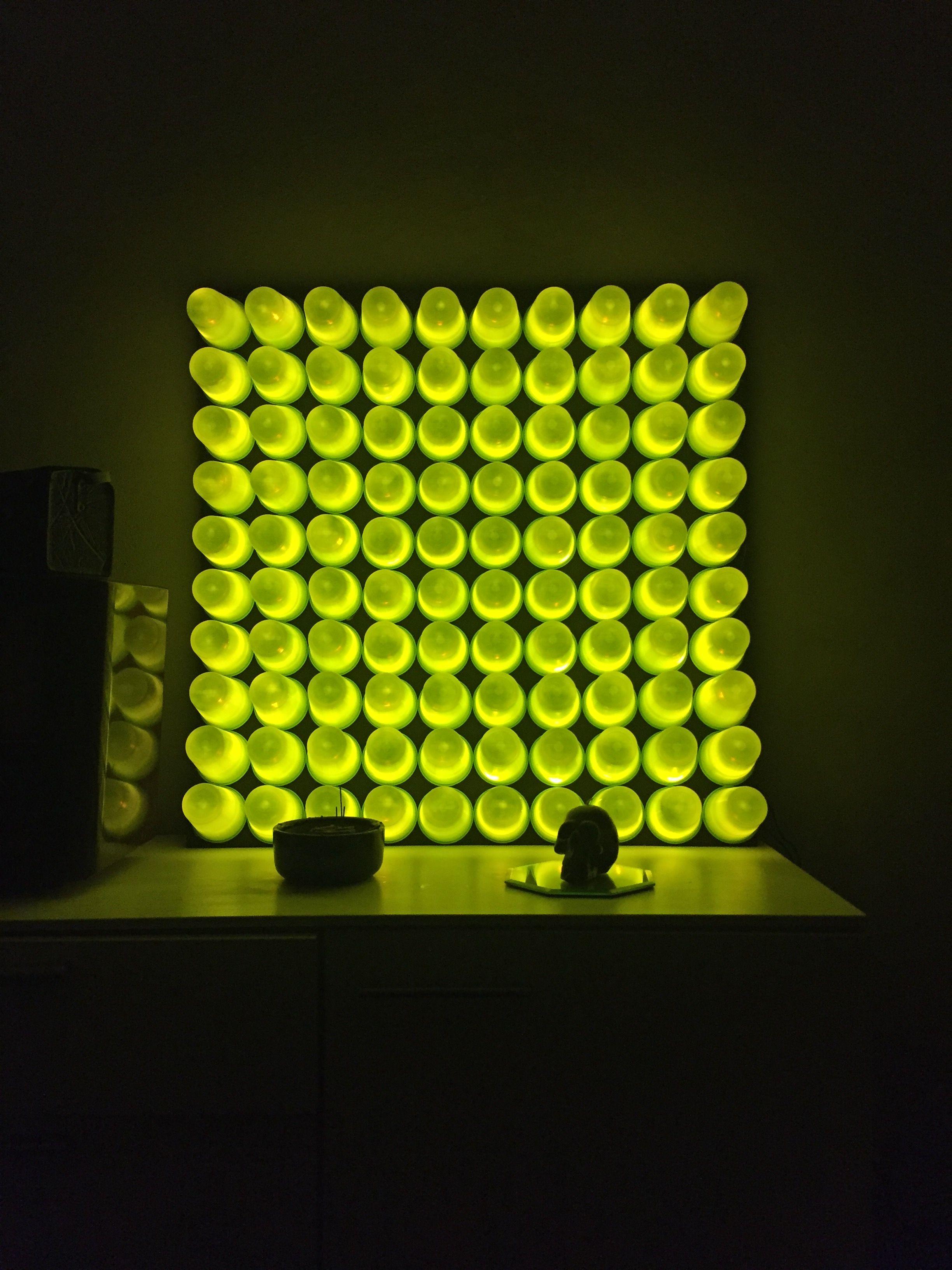 Plastikbecher Led Lampe Lampe Selber Bauen Led Lampe Lampen