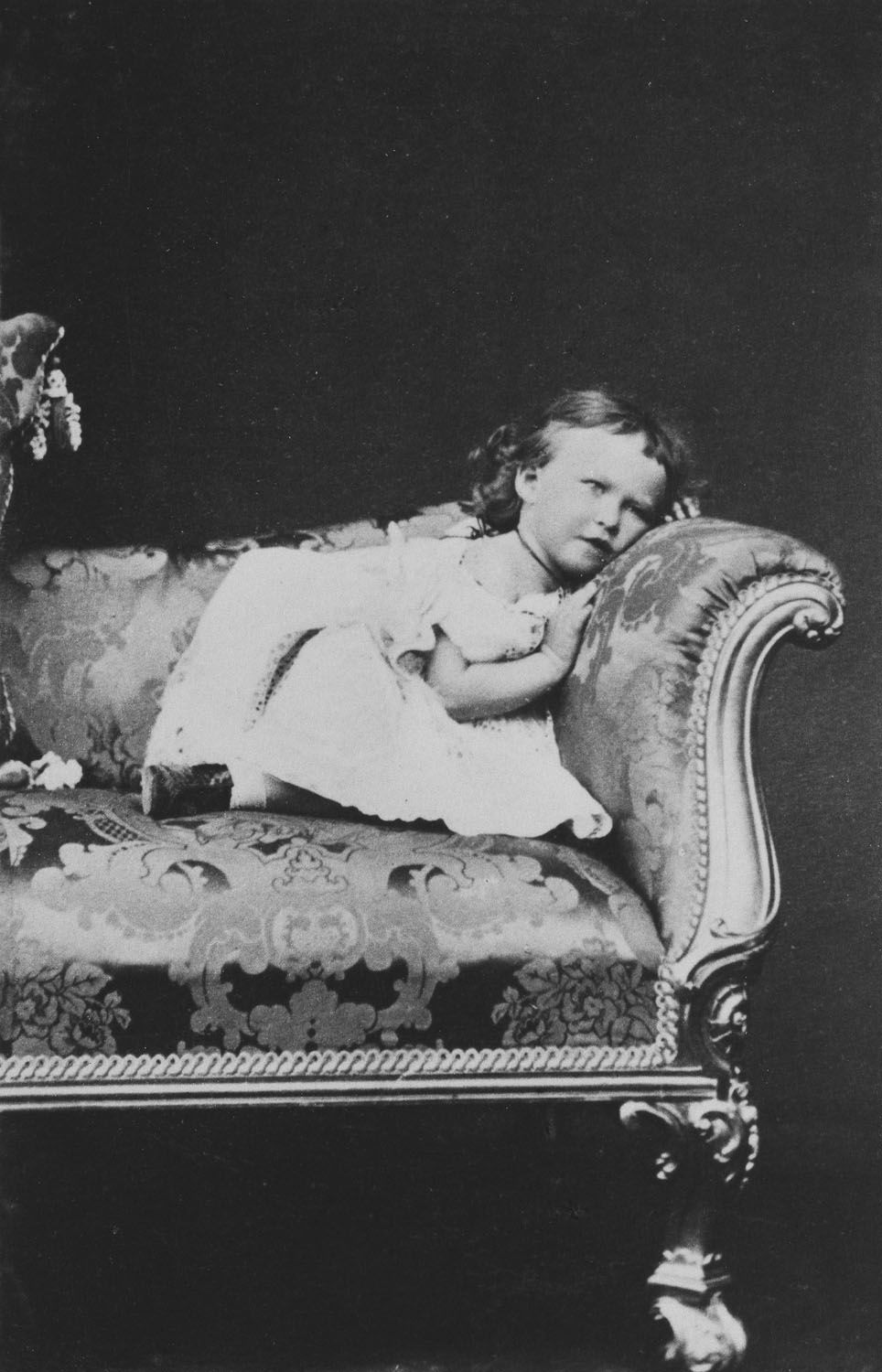 Princess Irene of Hesse, June 1868 [in Portraits of Royal Children Vol.12 1868]   Royal Collection Trust