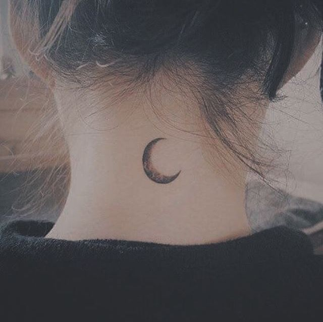 Pin By C On Tattoos Neck Tattoos Women Back Of Neck Tattoo Neck Tattoo