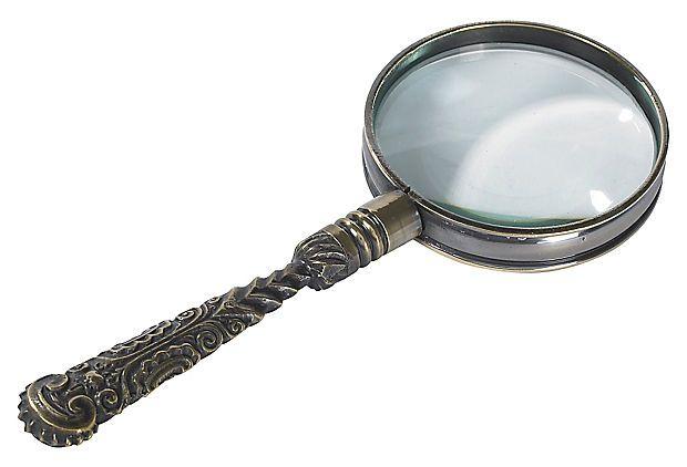 Rococo Magnifier, Bronze on OneKingsLane.com