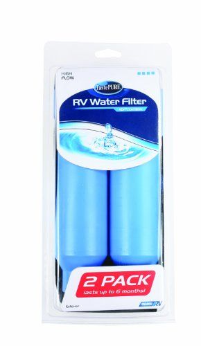 Camco 40045 Tastepure Kdf Water Filter 2 Pack Rv Water Filter Rv Water Rv Accessories