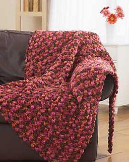 Chunky Crochet Blanket 3824 Archive Pattern By Bernat Design