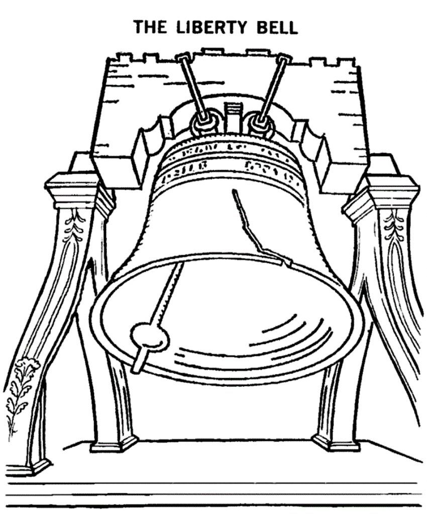 Free Printable Bell Coloring Pages For Kids Flag Coloring Pages Free Printable Coloring Sheets Coloring Sheets