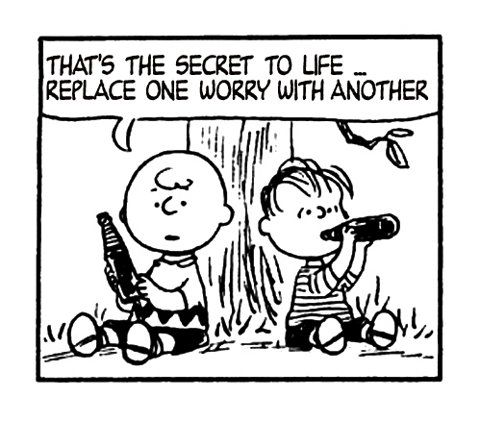 So it would seem, Charlie Brown. So it would seem....