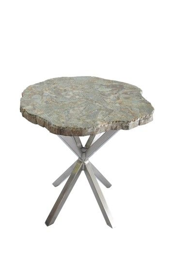 Good Form Malachite Stone Top Table Furniture Table Stone Top Side Table