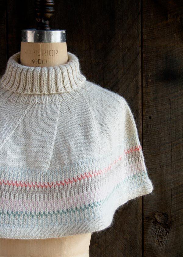 norte-luces-capelet-600-5 | Knit | Pinterest