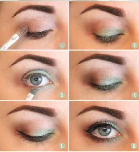 como pintarse los ojos paso a paso con las mejores tcnicas y consejos de - Pintarse Los Ojos