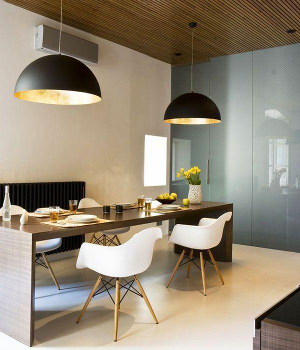 Einrichtungsideen Esszimmer Modern Und Gemütlich Schöne Leuchter ... Esszimmer Modern Gemutlich