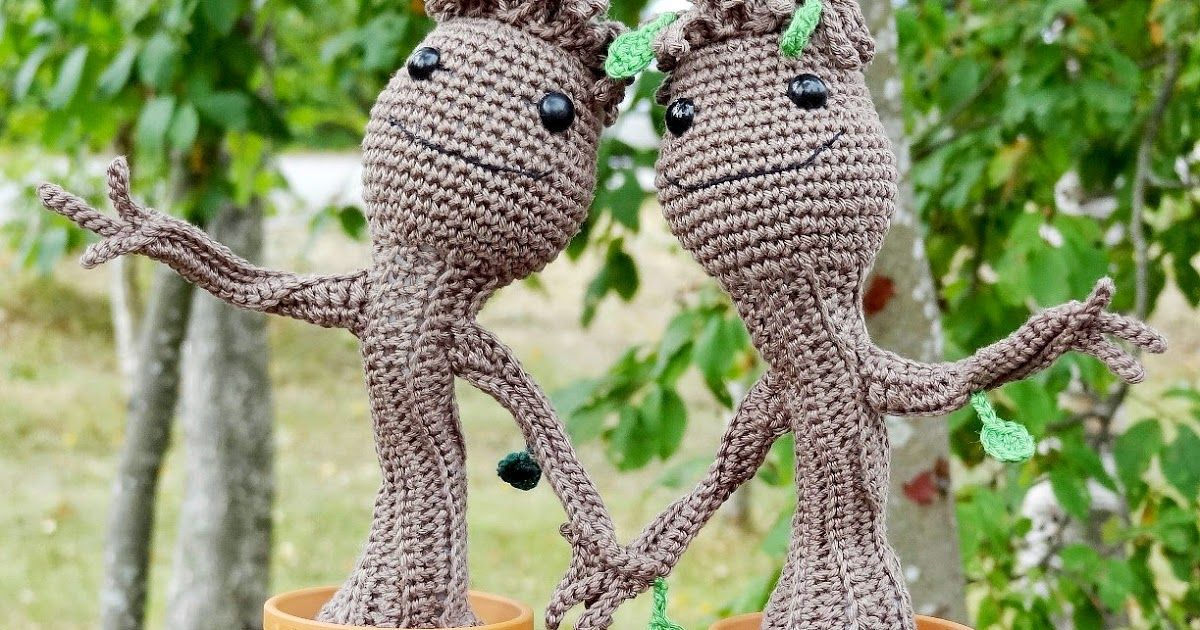 Amigurumi, Baby Croots, Guardians of the Galaxy, Amigurumi Anleitung ...