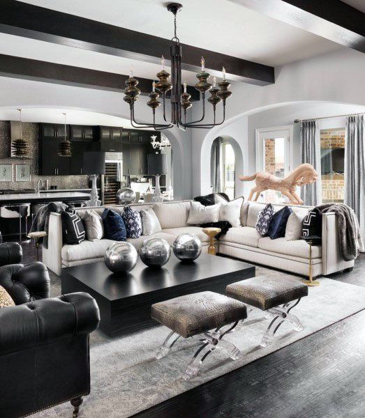 42 Gorgeous Living Room Color Ideas For Every Taste Best: Top 70 Best Great Room Ideas