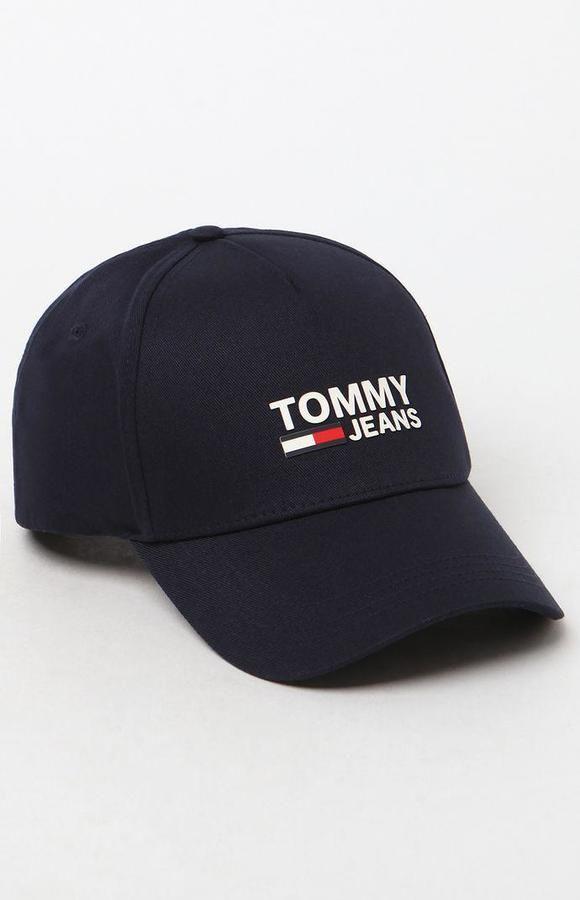 ead4bb36c94 Tommy Hilfiger Logo Snapback Dad Hat