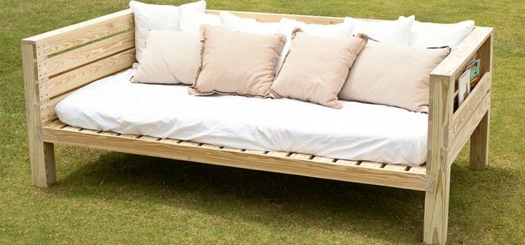 Free Daybed Plans Handywoman - Home, Furniture  Decor Hacks and