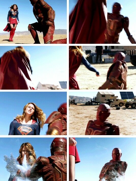 #Supergirl - Kara & Red Tornado #Season1 #1x06