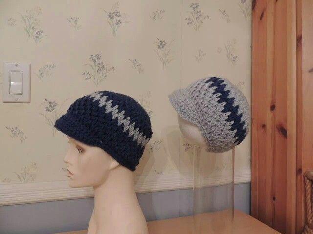 Brick stitch hat