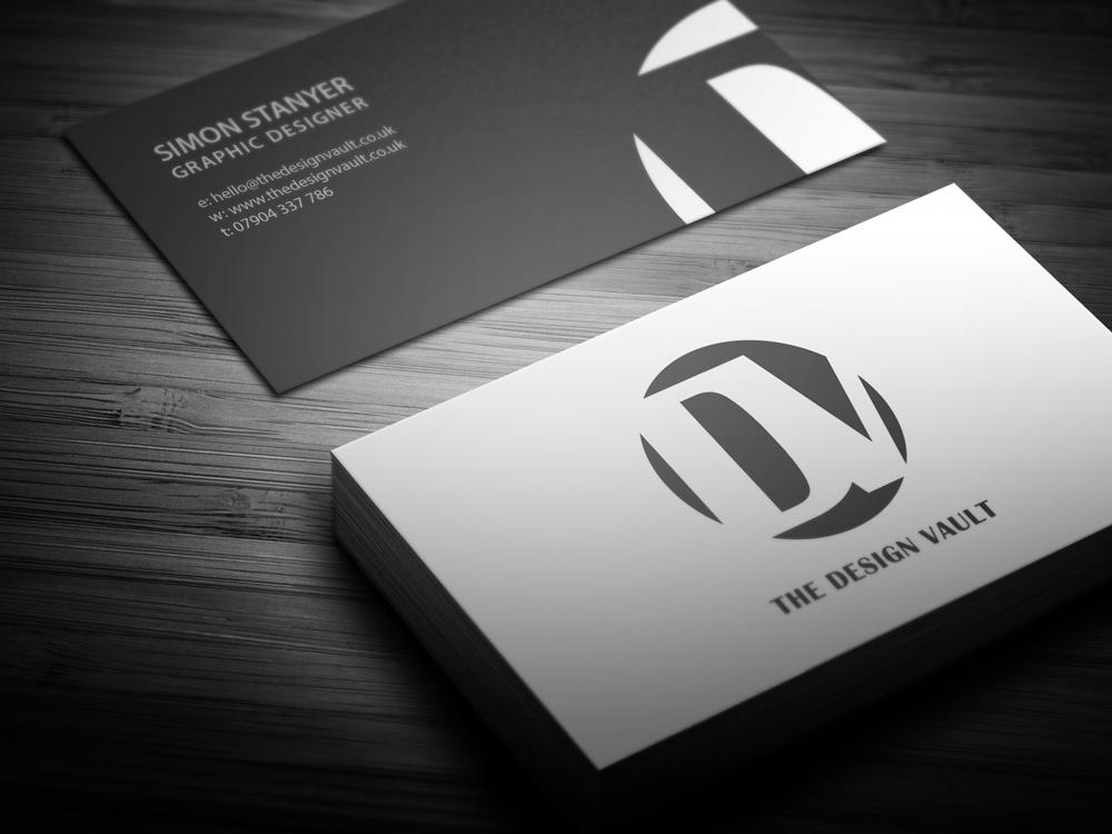 Identity Design: The Design Vault Business Card Design #TDV ...