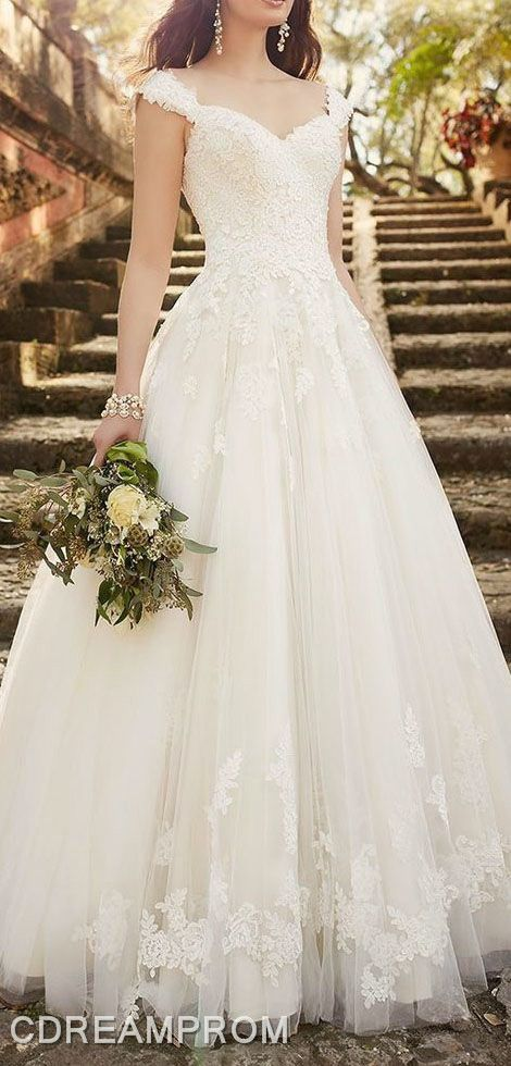 lace wedding dress wedding gown
