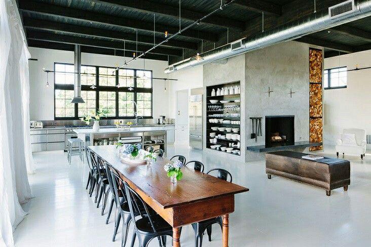 Industrial design in a loft (always a winner)