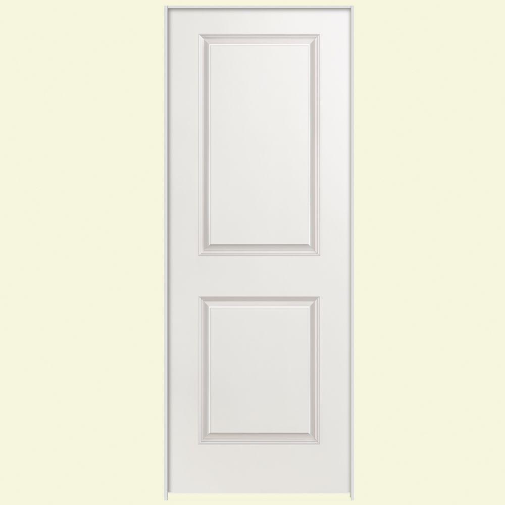 Masonite 32 In X 80 In Solidoor 2 Panel Square Top Top Solid Core Smooth Primed Composite Sin Prehung Interior Doors Doors Interior Solid Core Interior Doors