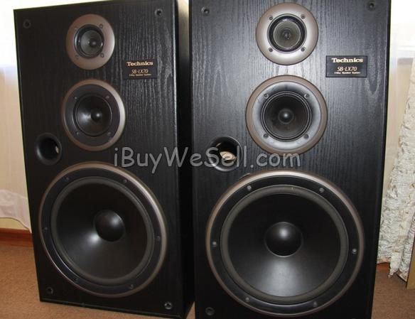 Speakers Technics Sb Lx70 For Sale In Excellent Working