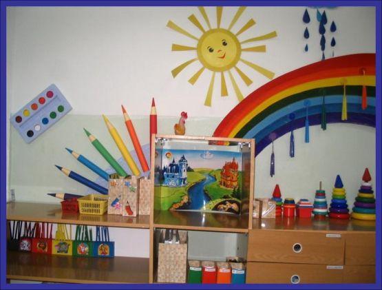 оформление уголков картинки для детского сада