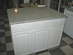 you want your own island make one diy kitchen island, diy, home decor, how to, kitchen design, kitchen island, New Kitchen Island