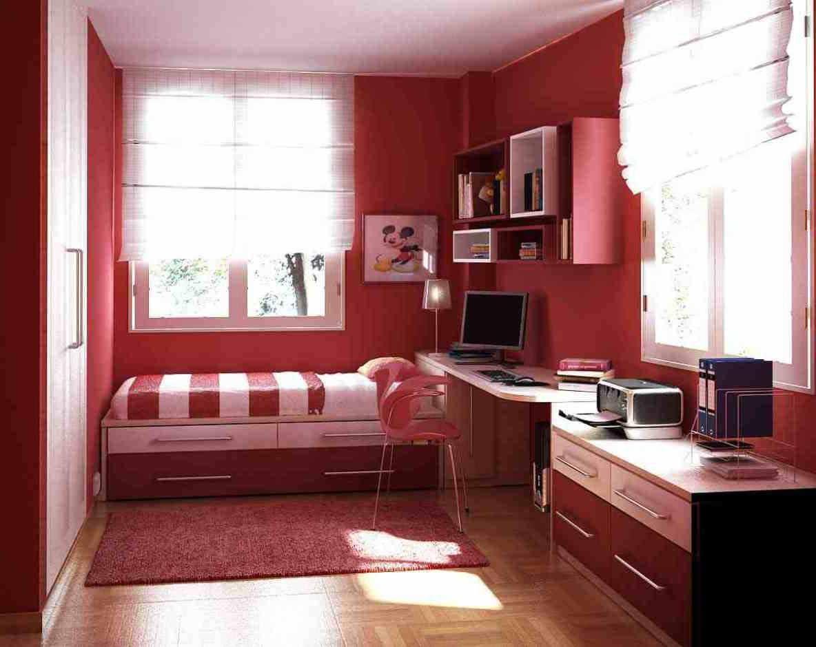 foto desain kamar tidur ukuran kecil sederhana | home decor