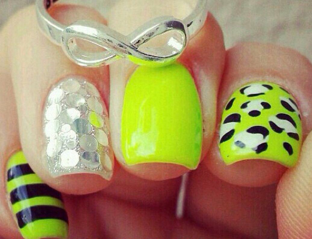 Verde limón | Carbon | Pinterest | Limon, Verde y Arte de uñas