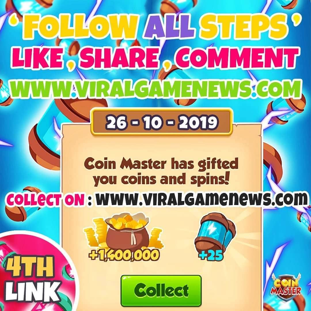 coin master spins link today 2019 Coin master hack, Miss