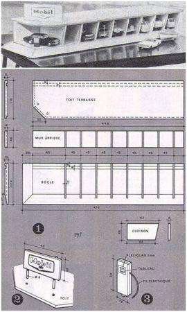 Garages A Faire Soi Meme Ribambelles Ribambins Avec Images Parking Voiture Garage Jouet