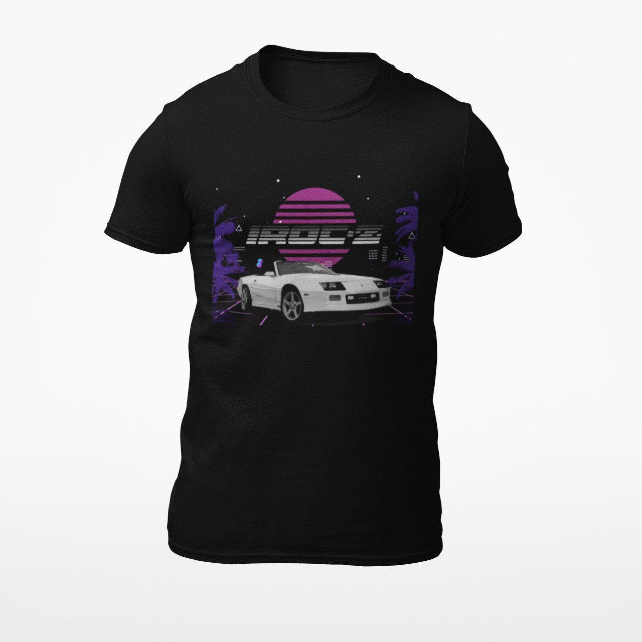 JG Infinite 1980s Chevy IROC-Z Camaro Short-Sleeve Unisex T-Shirt