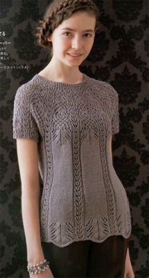 Japanese Knitting Patterns Free : Lets Knit Series Couture Knit Spr Sum 5 ISBN 4529051712 - Japanese Knitt...