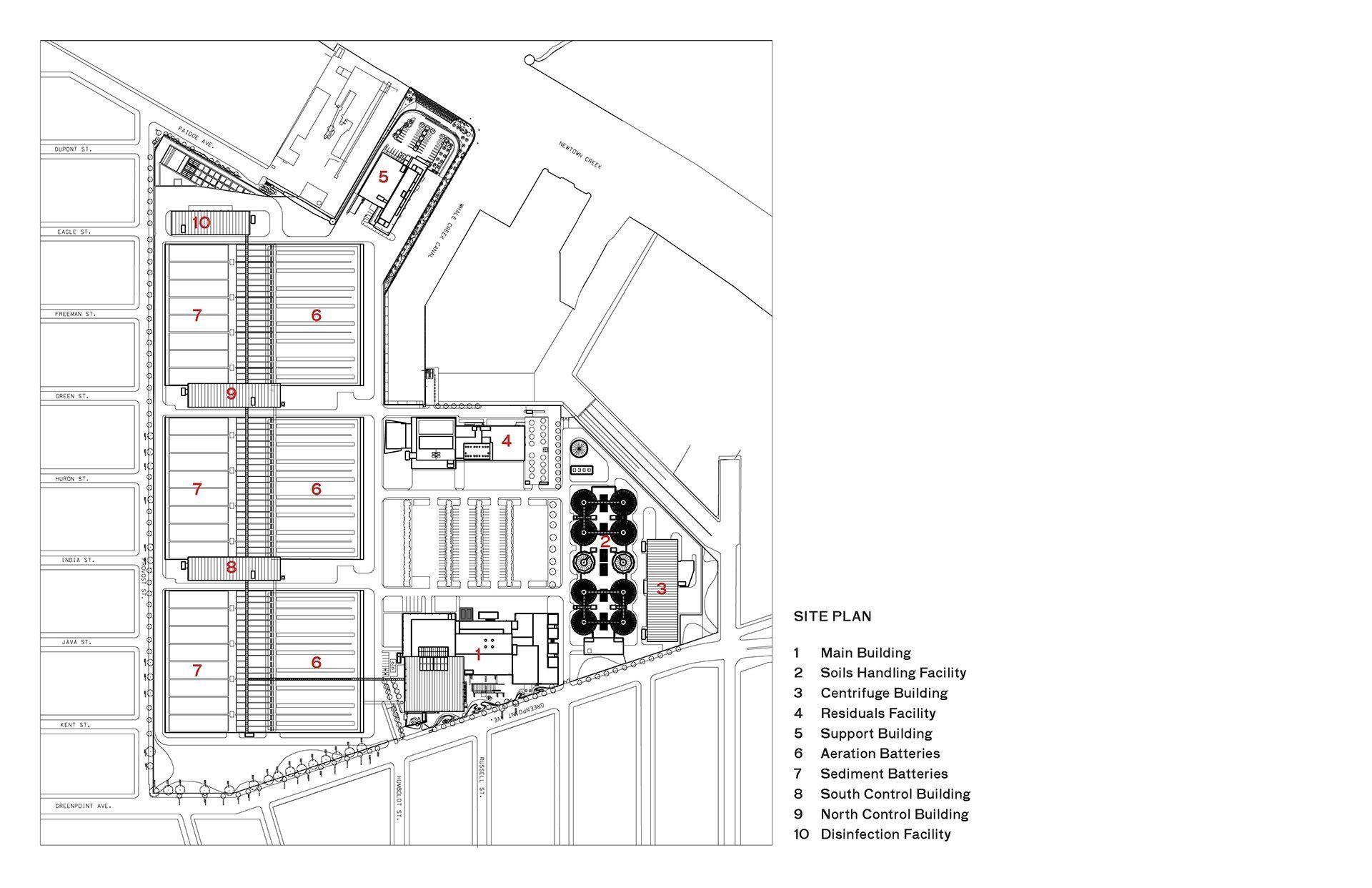0204 Newtown Site Plan 1000 in 2020 Site plan