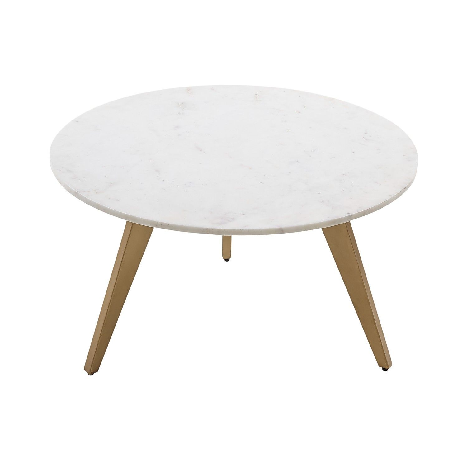 Rocket White Gold Marble Coffee Table Coffee Table Marble